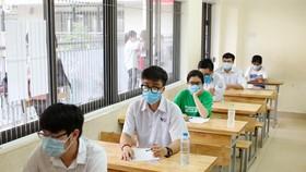 Thí sinh Hà Nội dự thi tốt nghiệp THPT 2020. ẢNH: QUANG PHÚC