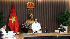 Phó Thủ tướng Lê Văn Thành chủ trì cuộc họp