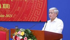 Chủ tịch Ủy ban Trung ương MTTQ Việt Nam Đỗ Văn Chiến  