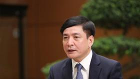 Tổng Thư ký Quốc hội Bùi Văn Cường. Ảnh: QUANG PHÚC