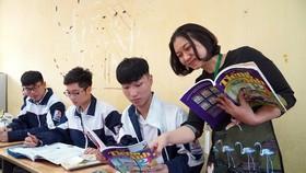 Tiếng Anh là môn ngoại ngữ được học sinh lựa chọn học nhiều nhất. Ảnh: QUANG PHÚC