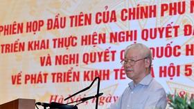 Tổng Bí thư Nguyễn Phú Trọng: Khắc phục có hiệu quả tác động của đại dịch Covid-19, nhanh chóng phục hồi và phát triển kinh tế