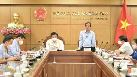 Hội nghị được diễn ra vào chiều 12-8