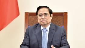 Thủ tướng Chính phủ Phạm Minh Chính đã có cuộc điện đàm với Chủ tịch, Giám đốc điều hành Công ty Pfizer. Ảnh: VIẾT CHUNG