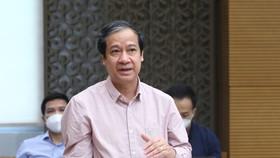 Bộ trưởng Bộ GD-ĐT Nguyễn Kim Sơn