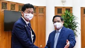 Thủ tướng Phạm Minh Chính tiếp Bộ trưởng Bộ Quốc phòng Nhật Bản Kishi Nobuo