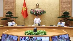 Thủ tướng Phạm Minh Chính chủ trì họp Chính phủ thường kỳ tháng 9. Ảnh: VIẾT CHUNG