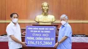 Tiếp nhận ủng hộ phòng chống dịch Covid-19 của đồng bào Việt Nam ở nước ngoài