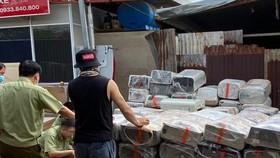 Phát hiện kho chứa trữ hàng trăm máy lạnh nhập lậu