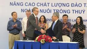 Na Uy hỗ trợ Việt Nam đào tạo 500 lao động nuôi trồng thủy sản