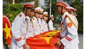 Truy điệu và an táng 6 liệt sĩ hy sinh trong Tổng tấn công và nổi dậy Xuân Mậu Thân 1968