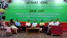 TPHCM bắt đầu xanh hóa đào tạo nghề