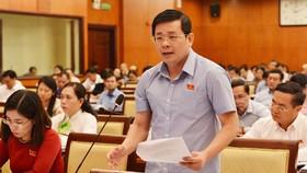 Giám đốc Sở TN-MT TPHCM Nguyễn Toàn Thắng
