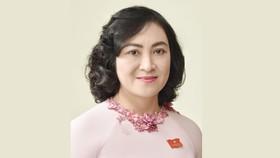 Giới thiệu bà Phan Thị Thắng làm Phó Chủ tịch HĐND TPHCM