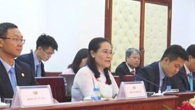 """Chủ tịch HĐND TPHCM Nguyễn Thị Lệ: Hợp tác với Thủ đô Viêng Chăn là """"mệnh lệnh từ trái tim"""""""