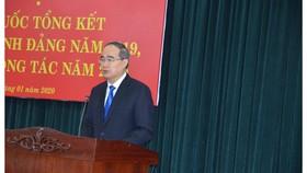 Bí thư Thành ủy TPHCM Nguyễn Thiện Nhân nêu 9 giải pháp giữ vững trật tự an toàn xã hội