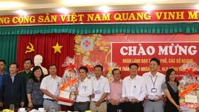 Đoàn đại biểu TPHCM chúc tết các cơ sở cai nghiện ma túy tại Bình Phước, Bình Dương