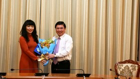 Đồng chí Phạm Thị Hồng Hà làm Giám đốc Sở Tài chính TPHCM