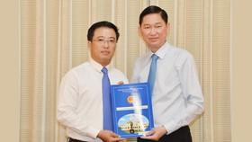Ông Lê Huỳnh Minh Tú làm Phó Giám đốc Sở Công thương TPHCM