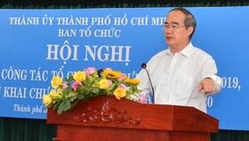 Bí thư Thành ủy TPHCM Nguyễn Thiện Nhân: Nhân sự cho đại hội Đảng các cấp đang rất cấp bách
