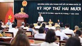 Kỳ họp thứ 20, HĐND TPHCM khóa IX. Ảnh: VIỆT DŨNG