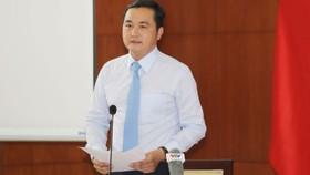 Giám đốc Sở Du lịch TPHCM Bùi Tá Hoàng Vũ. Ảnh: DŨNG PHƯƠNG