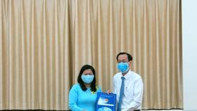 Bà Nguyễn Thị Hồng Thắm làm Phó Giám đốc Sở Nội vụ TPHCM