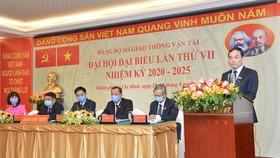 Đồng chí Trần Quang Lâm tái đắc cử Bí thư Đảng ủy Sở GTVT TPHCM