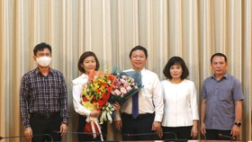 Bà Nguyễn Thị Kim Huệ làm Phó Giám đốc Sở Khoa học – Công nghệ TPHCM