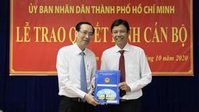 Ông Nguyễn Bá Thành làm Chủ tịch UBND quận Tân Bình