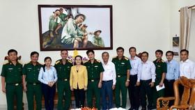 Chủ tịch HĐND TPHCM Nguyễn Thị Lệ thăm, chúc tết các đơn vị, cá nhân
