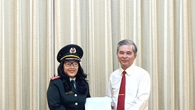 Bà Nguyễn Thị Thanh Thủy làm Phó Chánh Thanh tra TPHCM