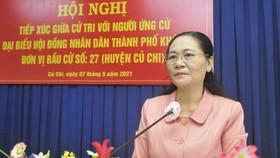 """Đồng chí Nguyễn Thị Lệ: HĐND TPHCM nhập cuộc, giám sát ngay dự án """"treo"""" cử tri phản ánh"""