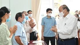 Cử tri huyện Củ Chi vui mừng khi Chủ tịch nước ứng cử đại biểu Quốc hội tại vùng đất cách mạng