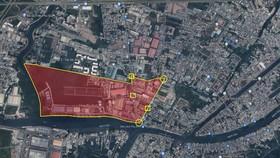 UBND quận 8 đề xuất giãn cách xã hội theo Chỉ thị 16 đối với khu phố 2, phường 16