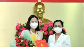 Đồng chí Phạm Thị Thanh Hiền giữ chức Phó Bí thư Huyện ủy huyện Củ Chi