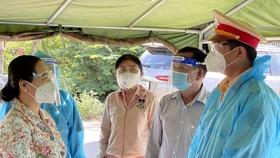 """Chủ tịch HĐND TPHCM Nguyễn Thị Lệ biểu dương người dân đã giữ được """"vùng xanh"""""""