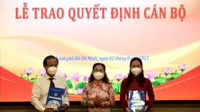 Đồng chí Đỗ Thị Minh Quân giữ chức vụ Chánh Văn phòng Đoàn ĐBQH và HĐND TPHCM