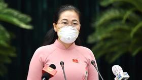 Chủ tịch HĐND TPHCM Nguyễn Thị Lệ: Đặt trọn niềm tin đối với đồng chí Phan Văn Mãi