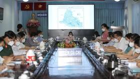 Thủ tướng Phạm Minh Chính chúc mừng huyện Củ Chi đã kiểm soát được dịch Covid-19