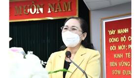 Chủ tịch HĐND TPHCM Nguyễn Thị Lệ: Đảm bảo an toàn nhưng không bỏ lỡ cơ hội phát triển