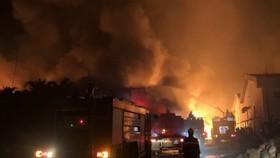 Cháy lớn trong KCN Biên Hòa 2