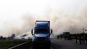 Khu vực xảy ra khói
