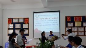 Cứu người bị tai nạn giao thông, một sinh viên ở Đồng Nai nhận bằng khen của tỉnh