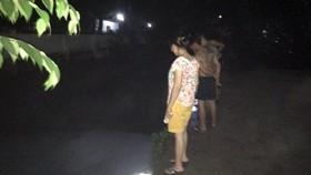 Nơi hai thanh niên bị nước cuốn mất tích