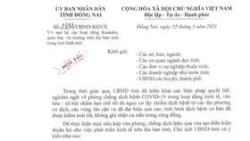 Đồng Nai cho phép karaoke, quán bar hoạt động trở lại