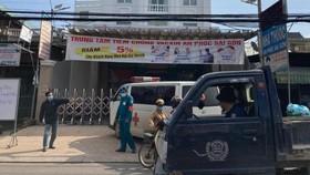 Các F1 của ca bệnh ở Phòng khám đa khoa An Phúc Sài Gòn âm tính lần 1 với SARS-CoV-2