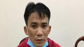 Nguyễn Thành Nhật Minh tại cơ quan công an