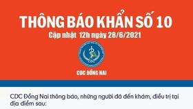 Đồng Nai: Thông báo khẩn tìm người đến Phòng khám chuyên khoa HIV/AIDS