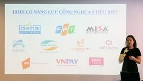 Công bố 10 doanh nghiệp Việt Nam có năng lực công nghệ 4.0 tiêu biểu